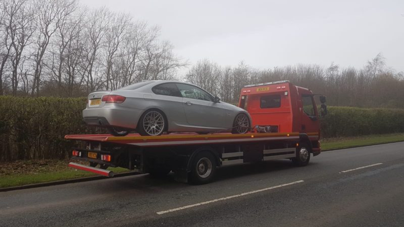 Vehicle Towing Service in Warrington
