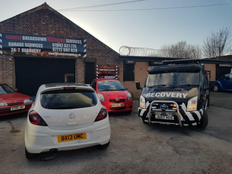 Vehicle Breakdown Recovery Services Ltd Car Recovery