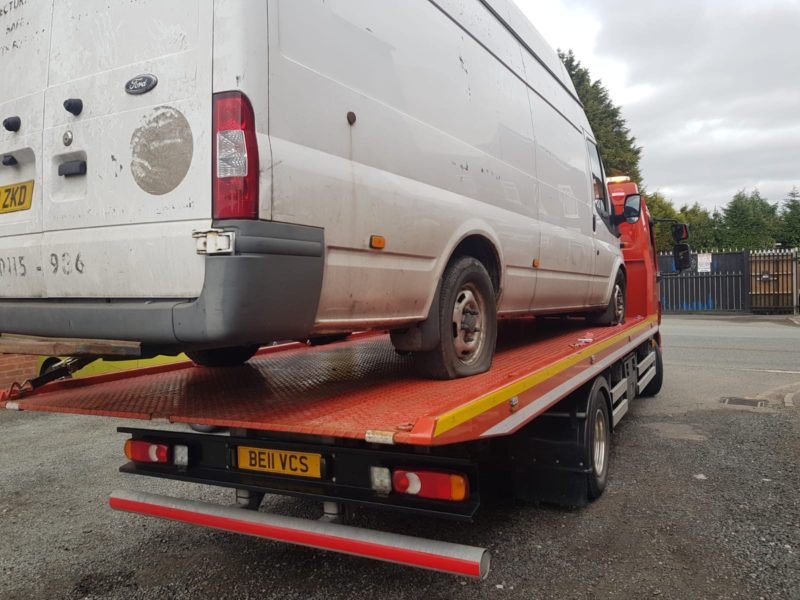 Car Towing Company Liverpool