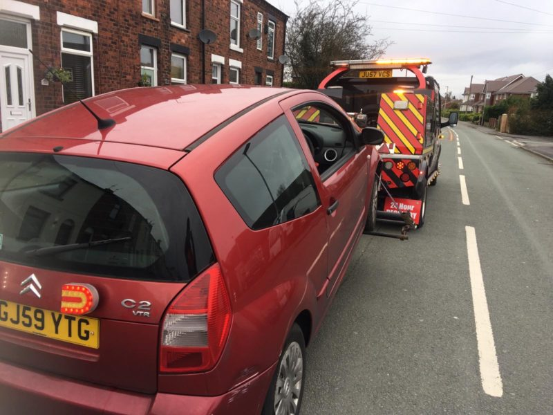 car breakdown recovery Runcorn