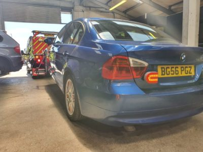 BMW car recovery