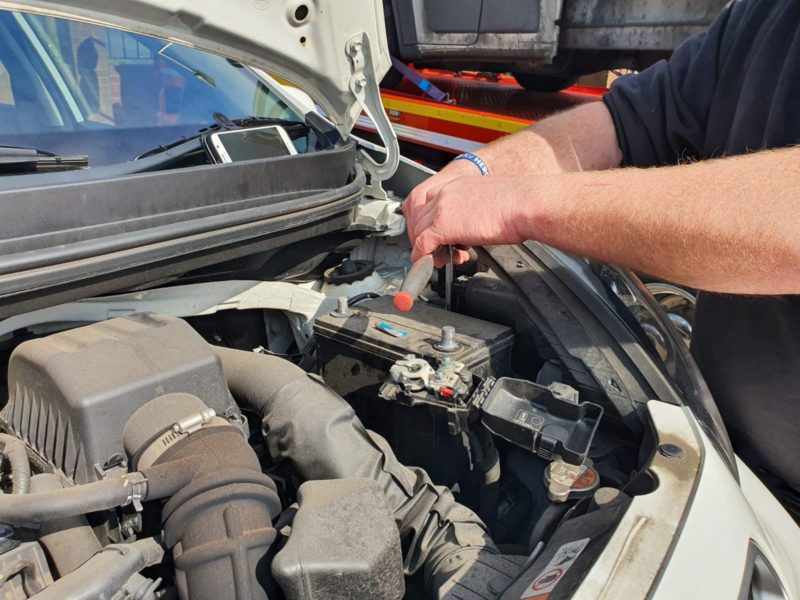 Car Needs Jump starting Widnes
