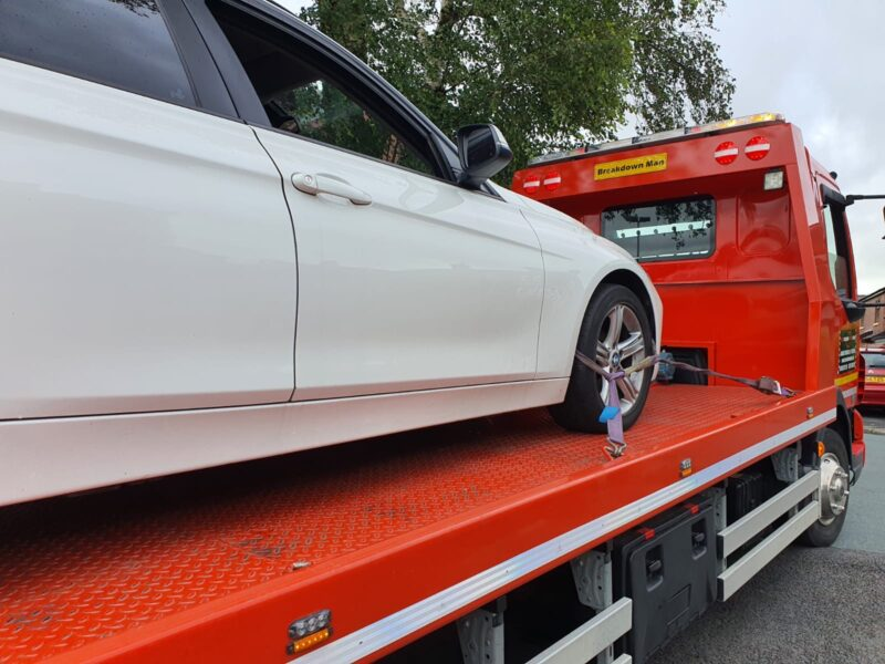 car breakdown services st helens