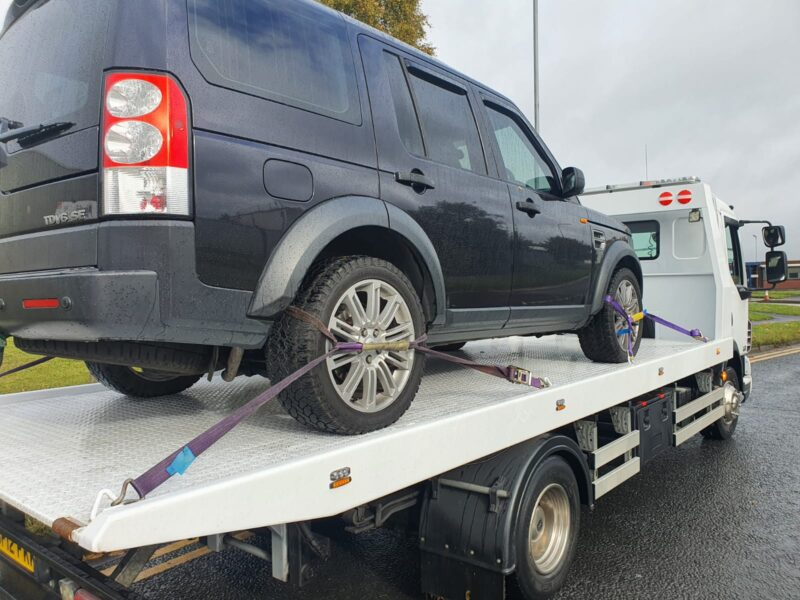 Vehicle Towing in Widnes