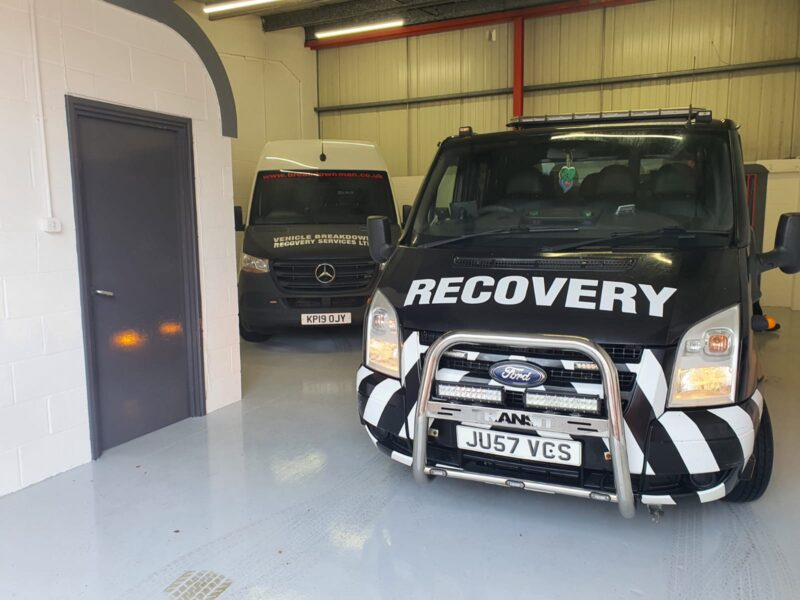commercial vehicle breakdown recovery