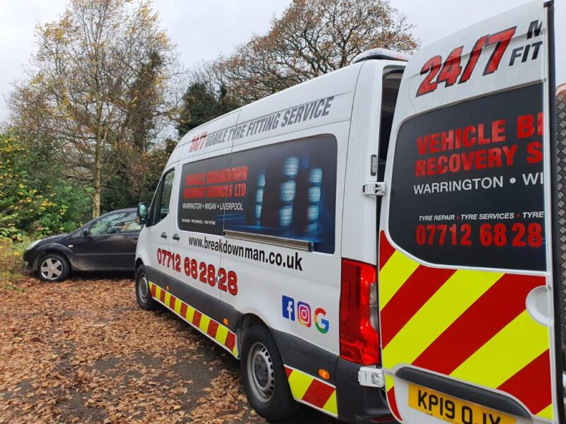 Mobile Tyre fitting st helens