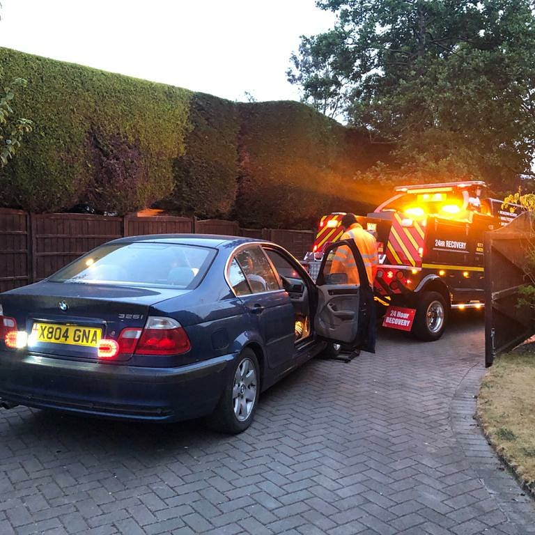 car breakdown recovery services morecambe