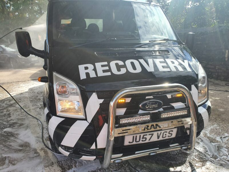 van breakdown and recovery manchester