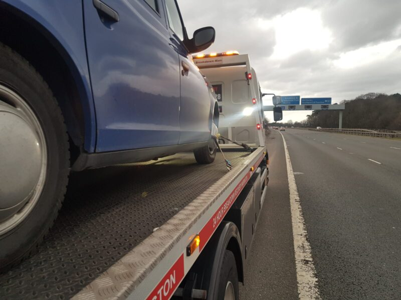 Car Breakdown Recovery and Towing in Hyde
